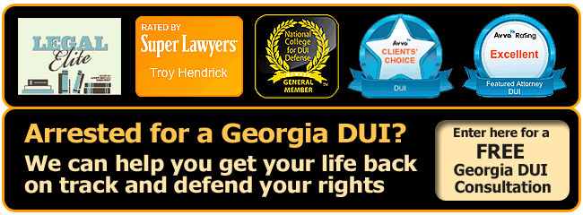 Georgia DUI Lawyer awards for Hendrick & Henry Law